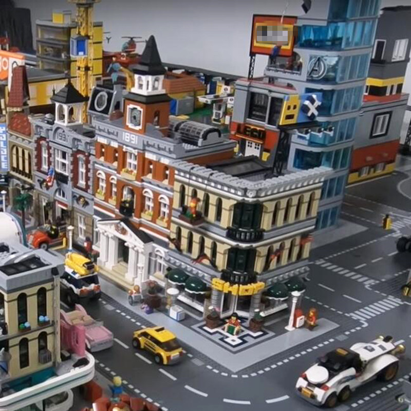 15002 15003 15004 15005 16001 Ghostbusters City Street View Building Blocks Legoing Creator 10211 10197 75827 Toys Gift Bricks15002 15003 15004 15005 16001 Ghostbusters City Street View Building Blocks Legoing Creator 10211 10197 75827 Toys Gift Bricks