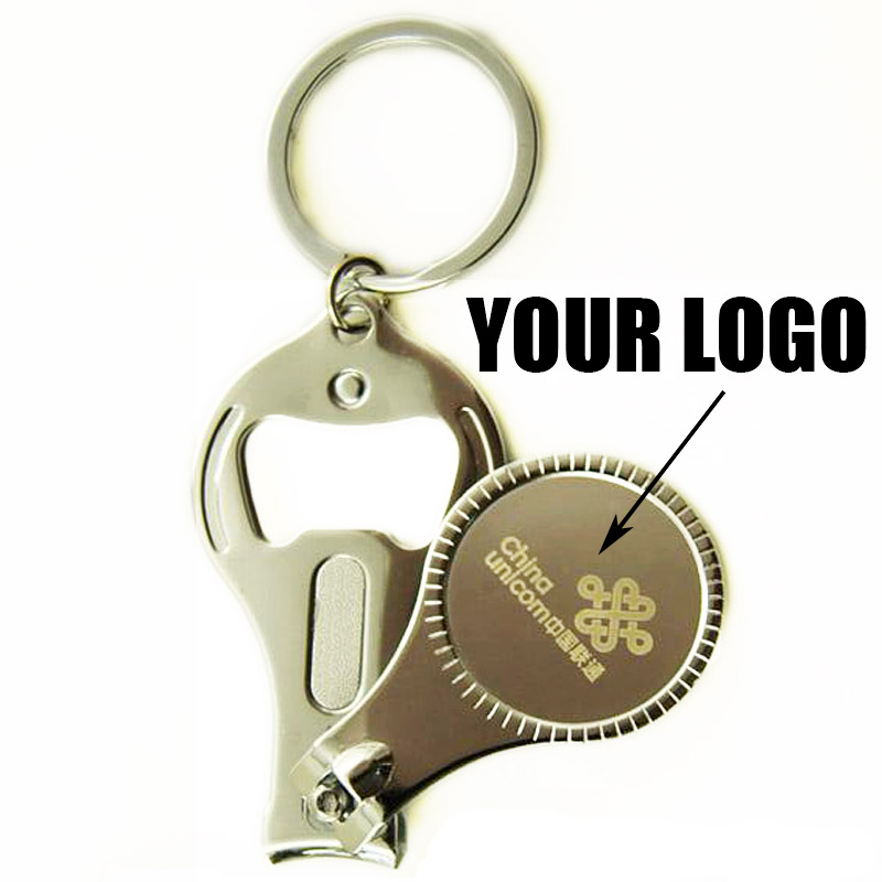 100pcs/lot Custom Laser Engraved Logo Nail Clipper Customized ...