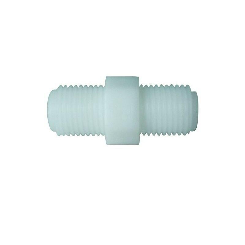 1/4 \'\'мужской BSP Резьбовая труба установки Нейлон Пластик прямой разъем Аквариум RO фильтр для воды обратного осмоса системы