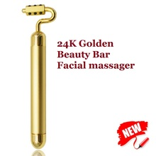Japan Kakusan Beauty instrument 24K Golden Germanium 7Type Beauty Bar Skincare tool Face Lift Facial massager Body shaping tools