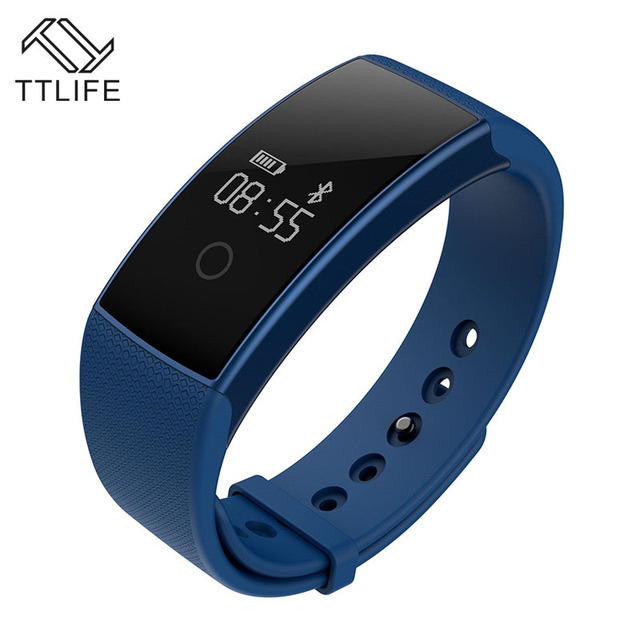 TTLIFE A99 Plus Smart Wrist Band Blood Oxygen Monitor Bracelet Heart Rate Monitoring SMS/Call Reminder Bluetooth For iOS Android