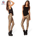 2016 women leggings hot sale brown bullets printing free size high elastic Ladies leisure casual Leggings woman pencil pants