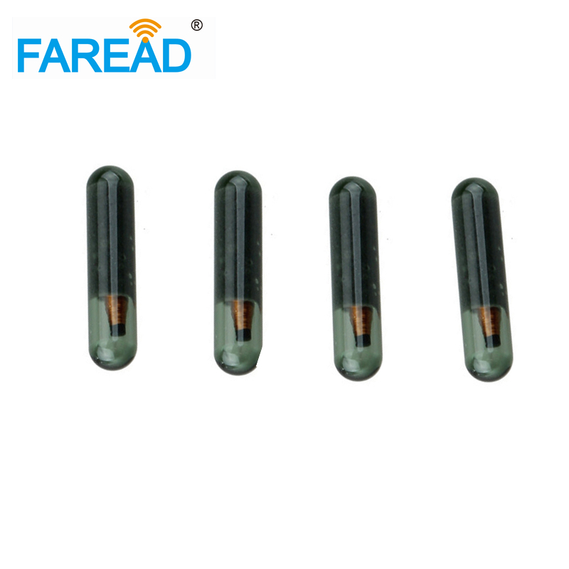 RFID Tags LF 125KHz 3*13mm Embeded Injectable Microchip For Identification  UID/ID64/Manchester/Unique/64bit