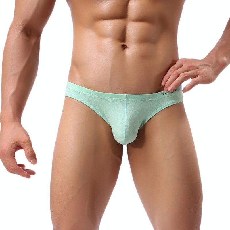 Sexy Men Underwear Briefs U Convex Big Penis Pouch Design -3218