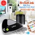 Лучший Broadlink RM3 RM Pro RM Mini3 Смарт домашней Автоматизации WIFI + IR + РФ Универсальный пульт дистанционного управления Интеллектуальные для ios ipad Android