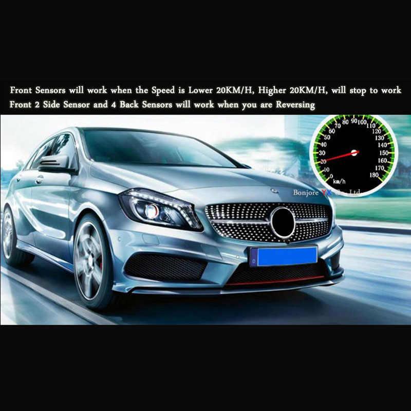 37c3438f7fc ... Koorinwoo 2019 OPS System OBD Connector Parktronics Car Parking Sensors  8 Alarm Front Rear view Camera ...