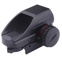 20mm Tactical Reflex Red/Green Laser 4 Reticle Holographic Projected Dot Sight Scope Airgun Rifle sight Hunting Rail Mount