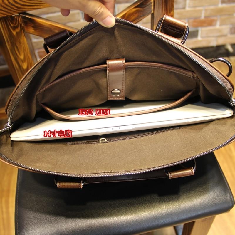 Sacs en cuir pour ordinateur portable 13 14 pouces pour Air 13'3 avec ceinture. Sac multifonctionnel pour ordinateur portable pour Apple Macbook Pro 13 - 5