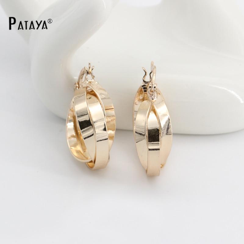 Golden Earrings Gold 585 Plated