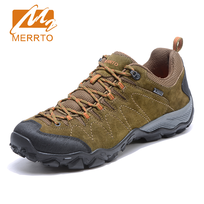 2017 Merrto Mens Walking Shoes Breathable Climbing Outdoor Sports Shoes Non-slip Travel Shoes For Men Free Shipping MT18703 2017 mens hiking shoes breathable rock climbing camping outdoor sports shoes for men army green black free shipping c101
