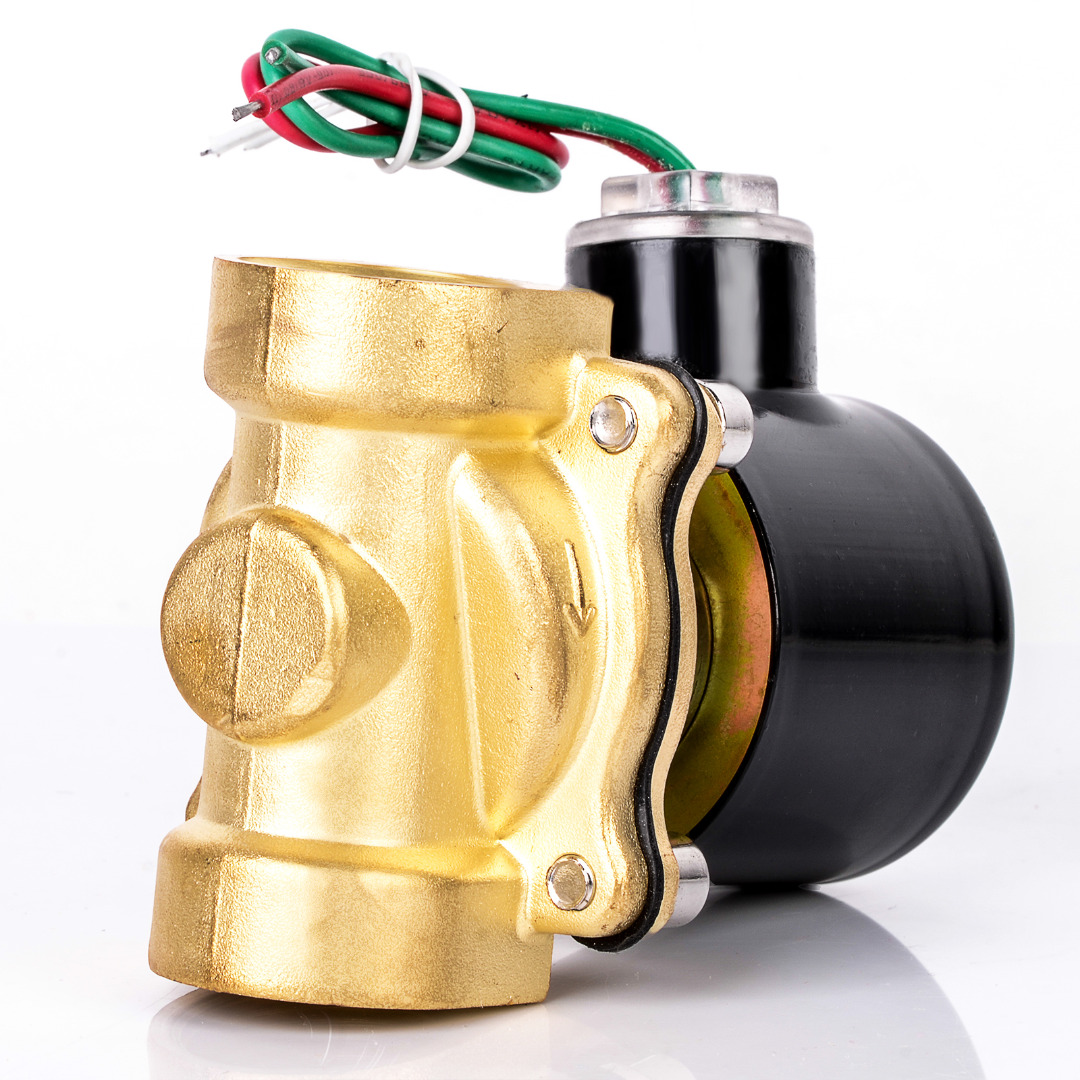 1pc AC 220V Brass Solenoid Valve 3/4 Black Electric Water Air Fuels Valve 2W-200-20 divage губная помада velvet тон 03