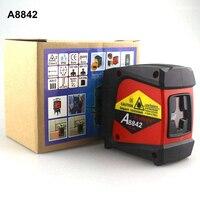 AcuAngle A8842 Laser Livello Laser Nivel 360 autolivellante Rotativo Croce Rossa Linea 2 Linee 1 Punto Diagnostico-strumento
