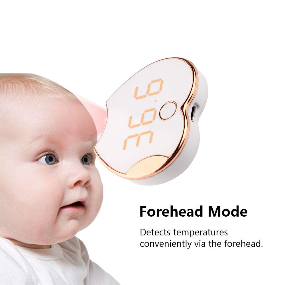 Infrared Forehead Thermometer Portable Digital Forehead Thermometer Rechargeable Baby Adult Non-contact Infrared Termometro non contact diagnostic tool charging digital baby thermometer lcd display infrared forehead body termometro infantil thermometre