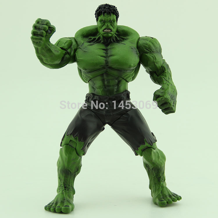 Free Shipping Incredible Green Hulk Movie 10 inches Loose Action Figure Toy HK006 pak greg incredible hulks