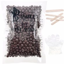 100g Chocolate Taste Wax For Depilatory Hot Film Hard Wax Beans Pellet Waxing Bikini Hair Removal Wax Epilage - Depilation Paste(China)