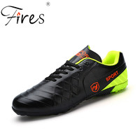 Fires Men Soccer Shoes Turf Indoor Football Shoes Brand Sneakers New Football 2017 Professiona Crampon Football