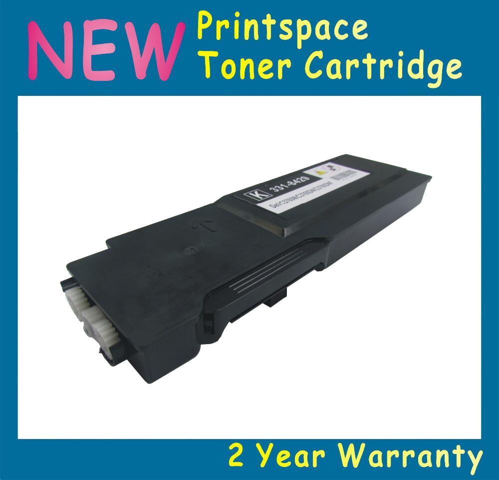 ФОТО 1x NON-OEM High Capacity Toner Cartridge Compatible With Dell C3760 C3760n C3760dnf C3765 C3765dn