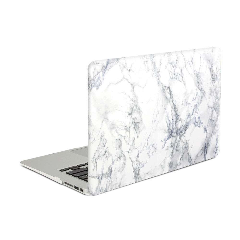 finest selection 4559a 24ea7 US $19.99 |GOOYIYO Laptop Marble Case Hard PC Shell Protective Cover For  Macbook Air Pro Retina Touch Bar&Screen Protector&Dust Plugs-in Laptop Bags  & ...