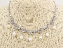 Натуральные белые украшения в форме капли ручной работы 17 19
