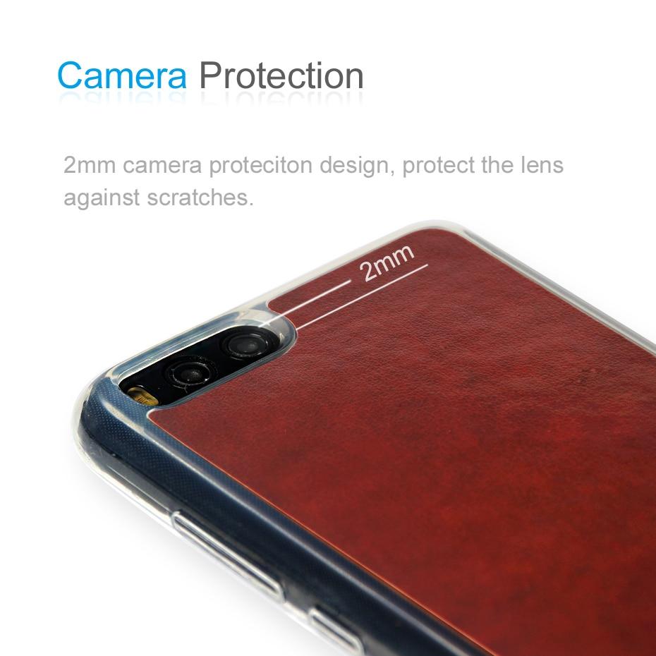 Asli ZEASAIN Slim Shockproof Mode Tutup Kasus Untuk Xiaomi Mi6 Mi 6 - Aksesori dan suku cadang ponsel - Foto 5