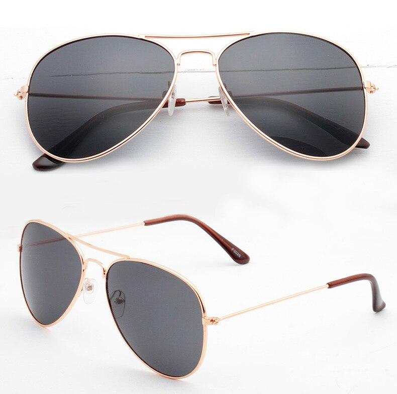 New arrival Fashion brand men and women Sunglasses not fade Alloy Frame Pilot UV400 Anti-Reflective Sun glasses wholesale 3027