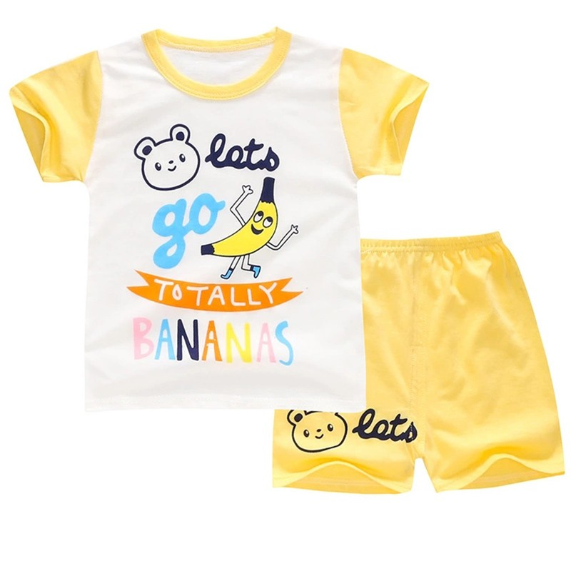 Children T-Shirt Set Cartoon Print Boy Tops Strip Shorts Cute Baby boy clothes Casual Coton Children clothing 1-4 years old 2017 top fashion children s clothing summer male child summer set boy clothes t shirt pants set for 4 16 years old
