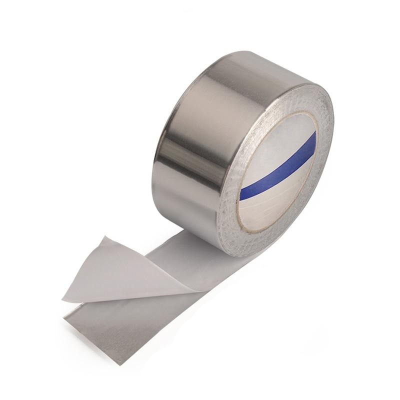 BGA Aluminum Foil Tape 30MM 40MM 50MM 60MM Width 40M Roll Heat Reflection High Temperature Adhesive Insulation Protective TapeBGA Aluminum Foil Tape 30MM 40MM 50MM 60MM Width 40M Roll Heat Reflection High Temperature Adhesive Insulation Protective Tape