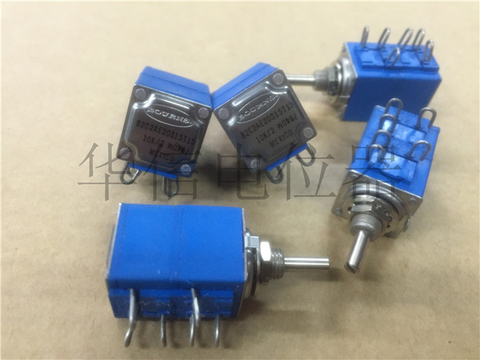 Original new 100% US import 82C2AE20S15T15 10K double potentiometer shaft diameter 3MM (SWITCH) все цены