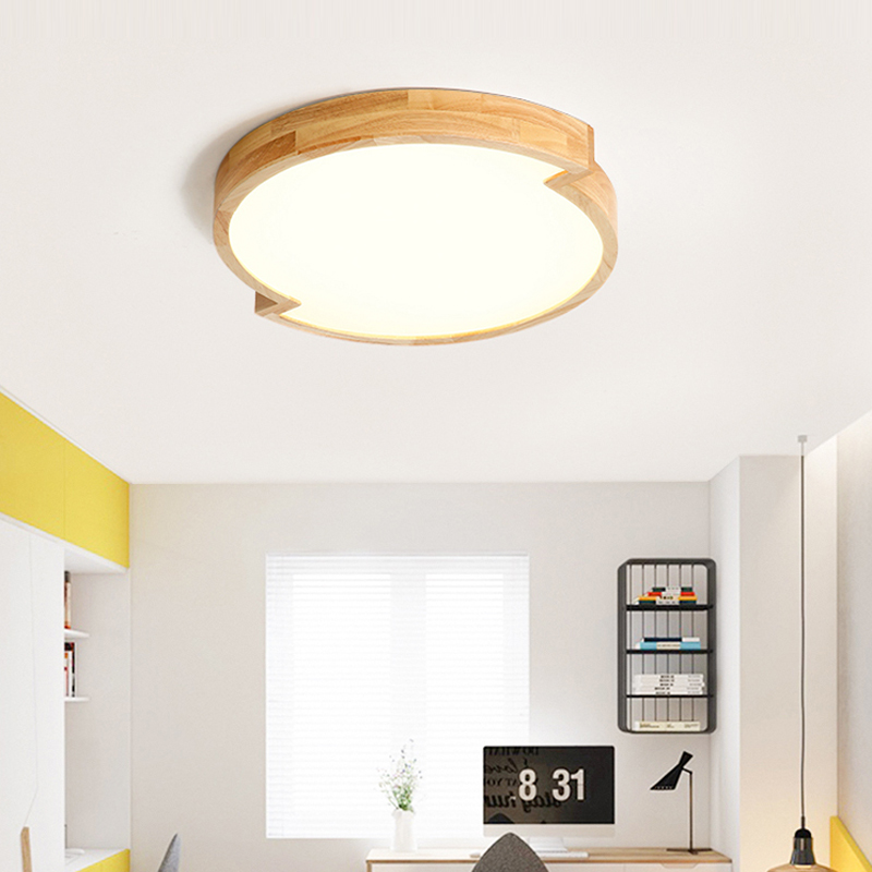 ultra-thin LED Wooden Ceiling Lights for the living room chandeliers Ceiling fixture for the modern ceiling lamps high 5.5cm