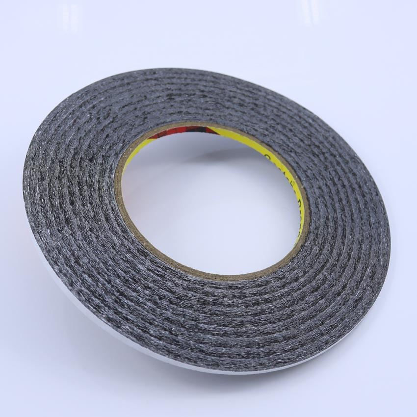 (4mm* 50M) 3M Two Sides Black Adhesive Tape Glue for Samsung Galaxy Sony iphone ipad Phone Touch Screen LCD Display