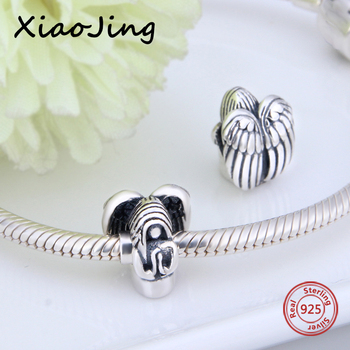 Fit Authentic Pandora Bracelet charms Silver 925 Original goddess angel Charms Beads Pendant fashion Jewelry making lover Gifts