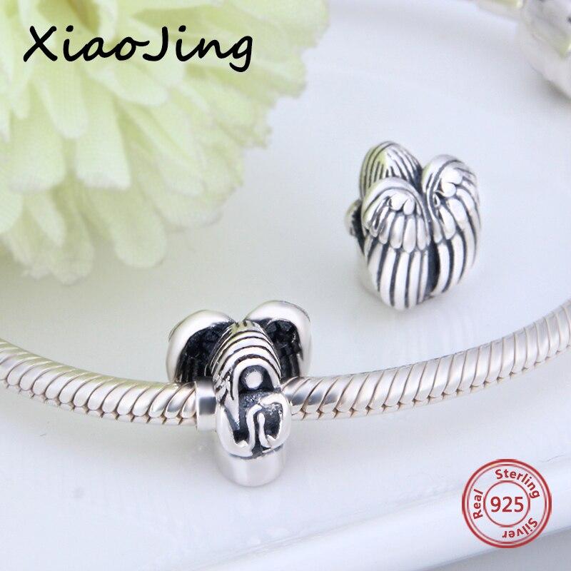 Fit Authentique Pandora Bracelet charms Argent 925 D'origine déesse ange Charmes Perles Pendentif Bijoux de mode de décision amant Cadeaux