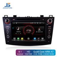 JDASTON Android 9.1 Car DVD Player For Mazda 3 Axela 2010 2011 Multimedia GPS Navigation 2 Din Car Radio Stereo Autoaudio IPS