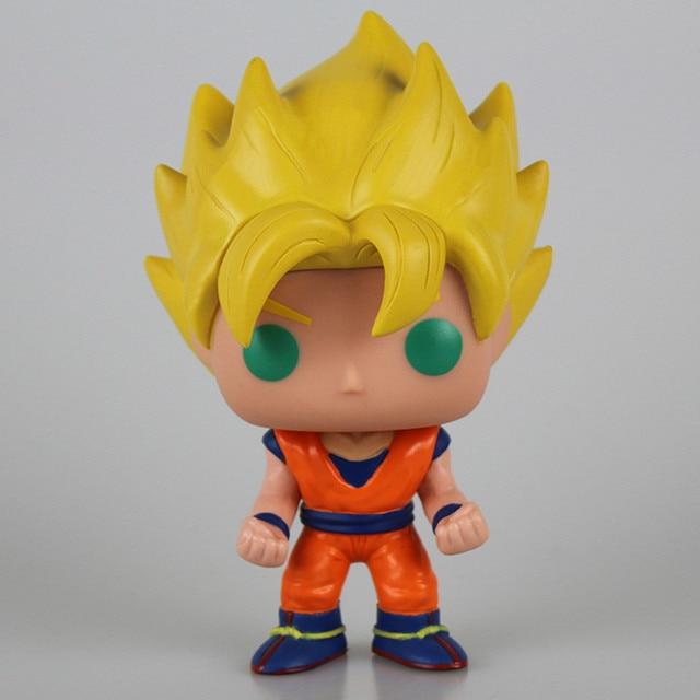 9 Style Dragon Ball Z Action Figure Goku Vegeta Buu Krillin Cell Piccolo Torankusu Action Doll Super Saiyan Model Toy Gift