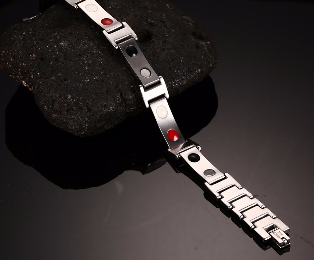 Mens bracelets magnetic Jewelry  111