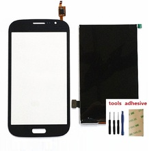 For Samsung Grand Duos i9080 i9082 Touch Screen Digitizer Sensor + LCD Display Screen + Adhesive + Kits protective frosted screen protector for samsung galaxy grand duos i9080 i9082 transparent 5 pcs