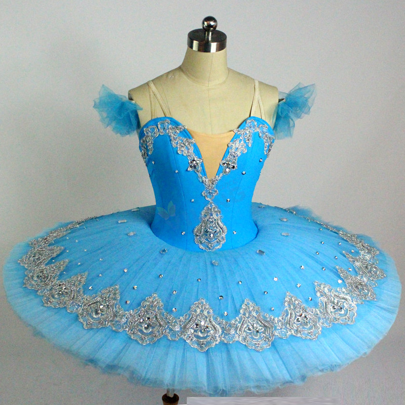 Buy Cheap New Blue Black Swan Professional Ballet Tutu Kids Child Women Adulto Ballet Costume Adult Ballerina Party Girl Exquisite Traditional Embroidery Art