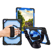 Miesherk Case for Air 2 Kids Safe with Hand Shoulder Strap and Stand Shockproof Full Protective Cover for iPad 9.7 inch Coque miesherk case for air 2 kids safe with hand shoulder strap and stand shockproof full protective cover for ipad 9 7 inch coque