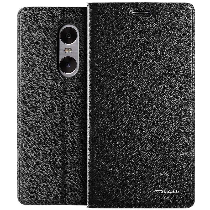 Luxury Genuine Leather Magnetic Slim Flip Case Cover for Xiaomi Redmi Pro