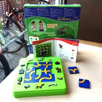 Cat and mouse puzzle logic thinking reasoning maze desktop game brainstorming board game family party games