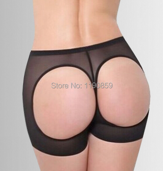 7118d289bd555 Free shipping Women Butt Lifter Shaper Bum Lift Pants Buttocks Enhancer  Boyshorts Booty Briefs Plus Size S-XXX