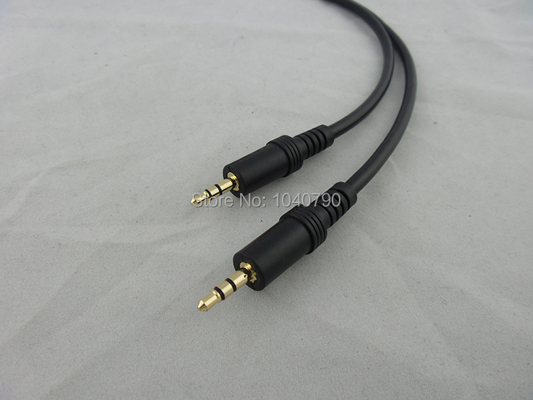 Gold plated <font><b>3.5</b></font> <font><b>to</b></font> <font><b>3.5</b></font> <font><b>cable</b></font> Audio <font><b>cable</b></font> Signal lines 2M 6.4ft image