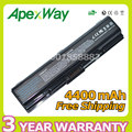 Apexway 6 cell Battery PA3534U-1BAS PA3534U-1BRS PA3534U1BAS for Toshiba Satellite Pro A200 A500 L200 L300 L500 L550 L555