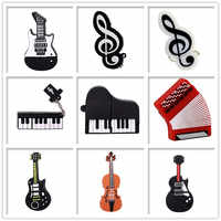 Pendrive musical instruments usb flash drive 4GB 8GB 16GB 32GB 64GB guitar/ piano/accordion memory stick creative gift pendrive