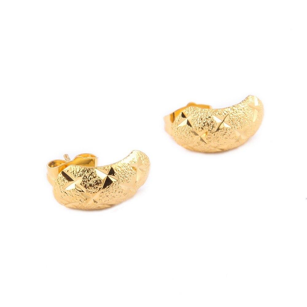 Wholesale Baby Earrings Gold Color Kids Earrings Fashion Jewelry ...