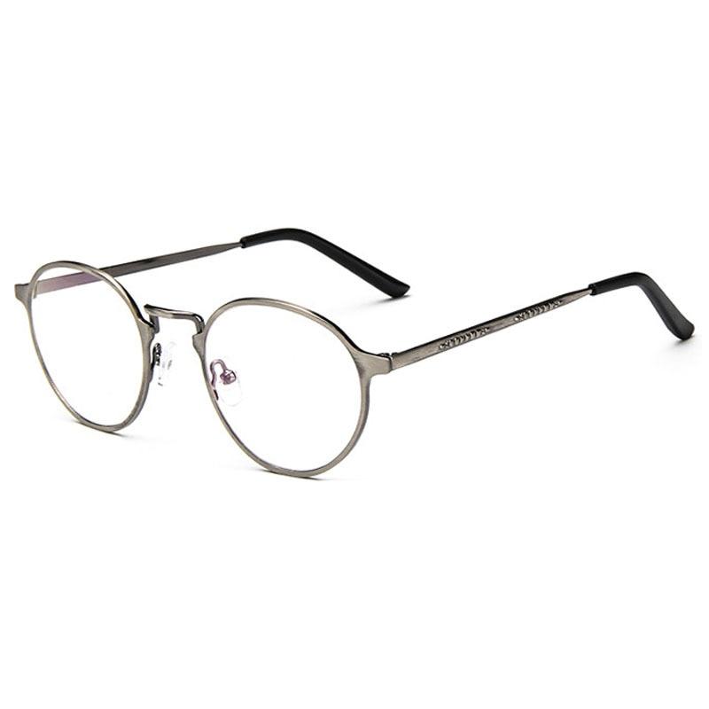 Grado superior calidad a estrenar del Metal gafas redondas gafas de ...