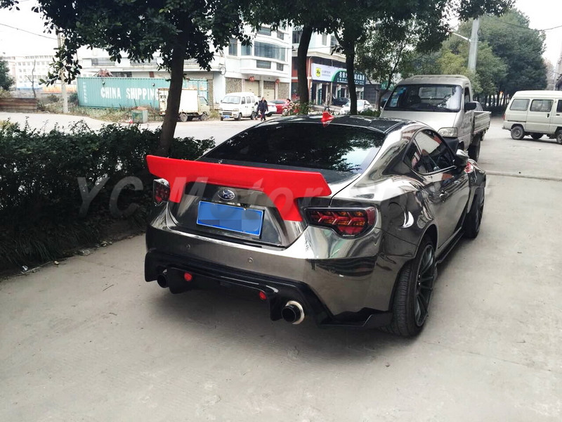 GT86 FT86 ZN6 FRS BRZ ZC6 Greddy X Rocket Bunny Ver.2 Style Rear Spoiler Wing CF (21)