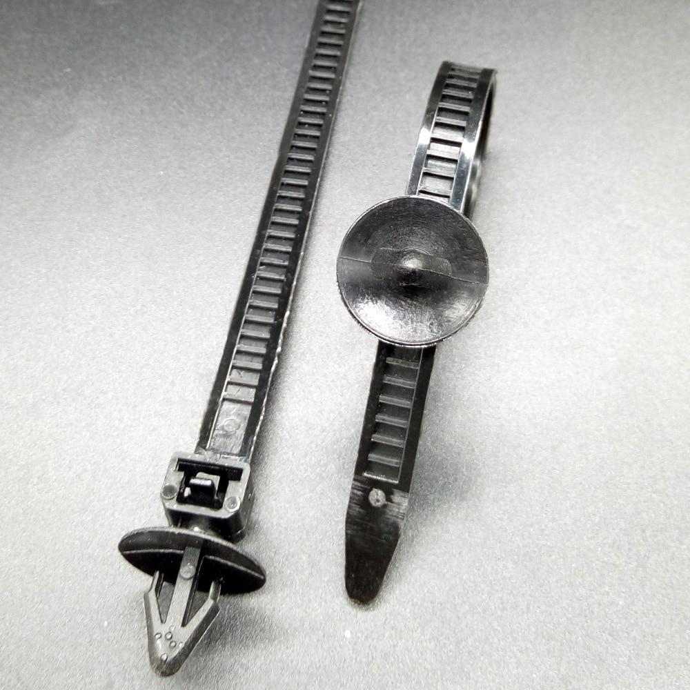 CNIKESIN10X 8*170mm Auto Fastener Lösbare Kabelbinder Clips ...