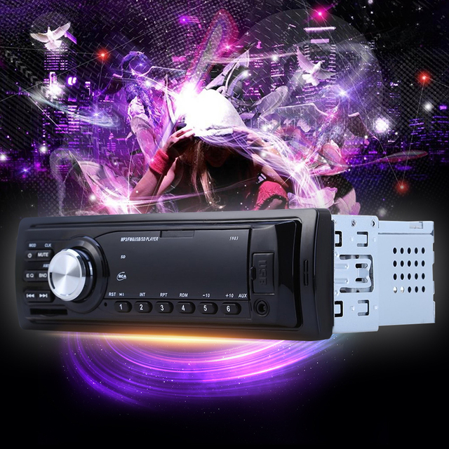 5983 car radio auto audio stereo mp3 player support fm sd aux usb 5983 car radio auto audio stereo mp3 player support fm sd aux usb interface for vehicle sciox Choice Image