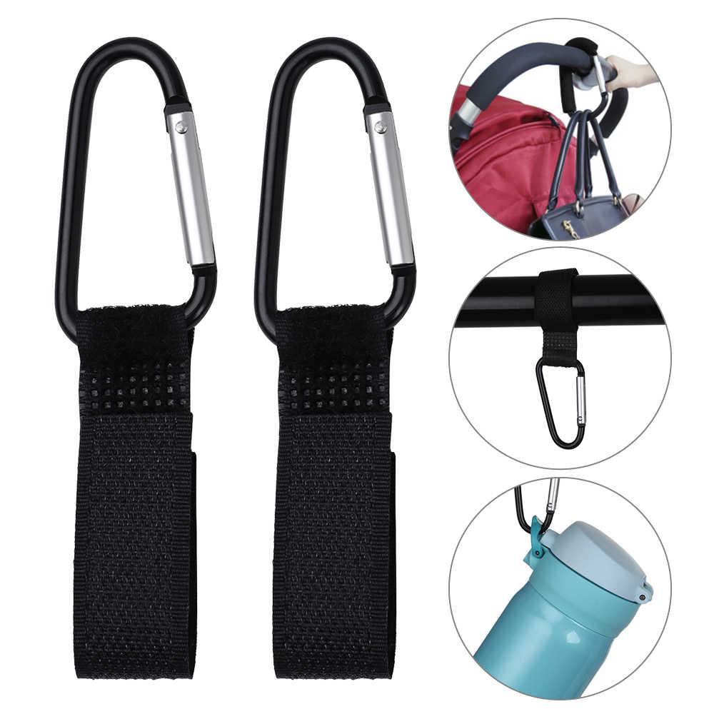 1/2/4Pcs Stroller Hooks Wheelchair Stroller Pram Carriage Bag Hanger Hook Baby Strollers Shopping Bag Clip Stroller Accessories